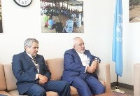 عکس   دیدار ظریف با معاون دبیرکل سازمانملل در امور انساندوستانه