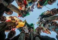 آیین سنتی علم بندان در روستای درخش