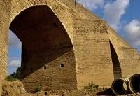 مرمت و ساماندهی پل صفوی بیستون آغاز شد