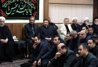مراسم عزاداری امام حسین با حضور رییس جمهور