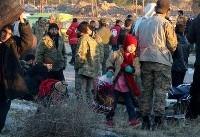 هزاران غیرنظامی مناطق تحت اشغال داعش در حماه و حمص وارد ادلب شدند