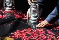 مراسم عزاداری سرور و سالارشهیدان در یادمان شهدای گمنام وزارت نفت
