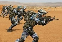 اولین مانور نظامی چین در شاخ آفریقا (+عکس)