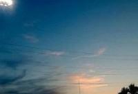 توضیحات فرمانده انتظامی بجنورد درباره مشاهده یک جسم نورانی در آسمان ...