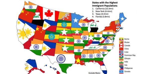 US Immigrant population hits record high: How many Iranians and Indians? -  kodoom.com - Kodoom