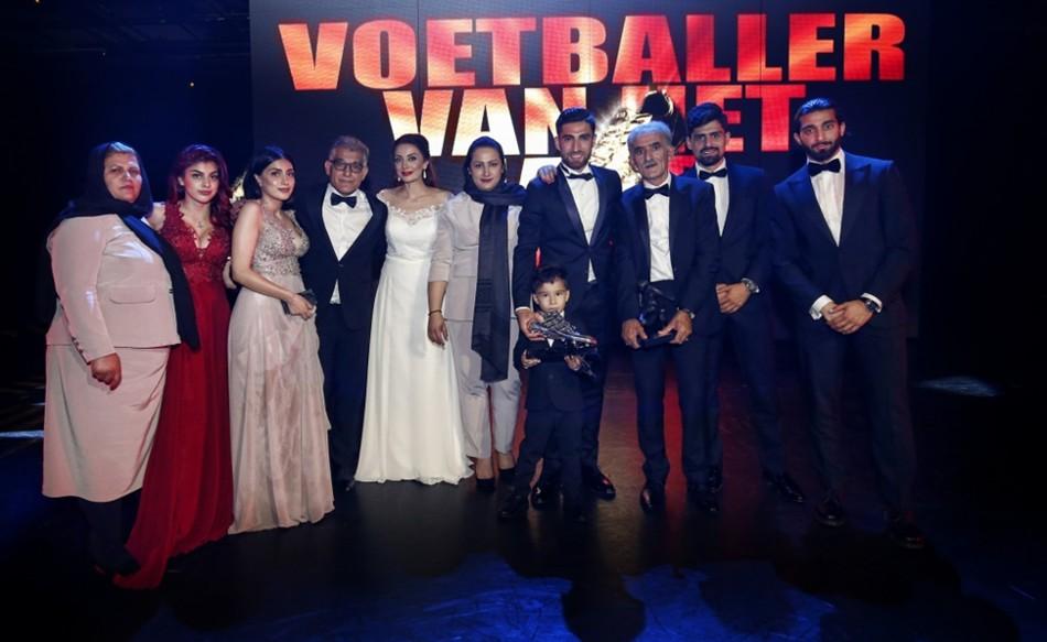 9816e9424 Jahanbakhsh from Iran wins Highest Professional Football Awards in the  Netherlands - kodoom.com - Kodoom