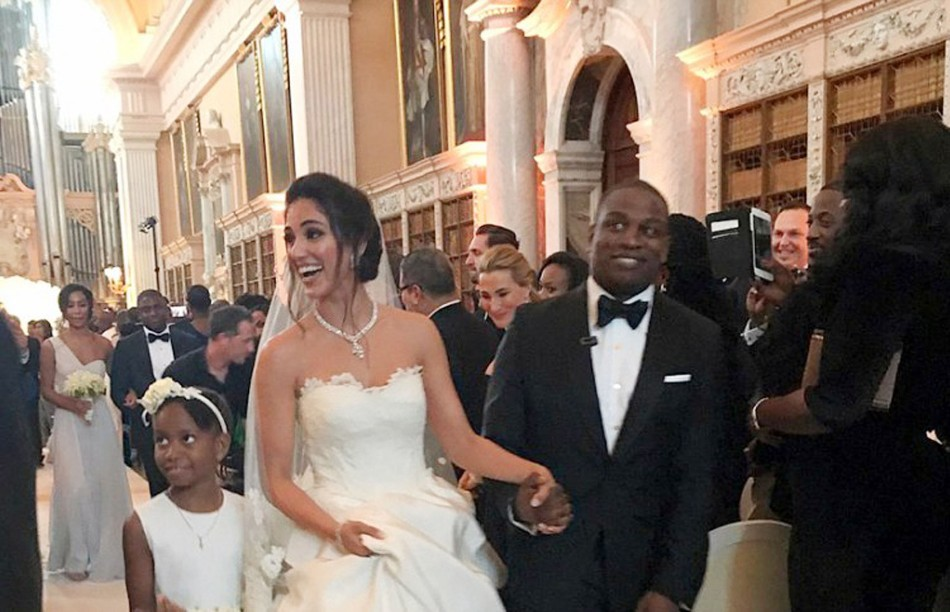 7325a1337 Rags to Riches for Iranian Model Who Married Son of Nigerian Oil  Billionaire in  8 Million Wedding