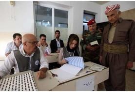 حزب دموکرات به رهبری مسعود بارزانی برنده انتخابات پارلمانی اقلیم کردستان عراق شد