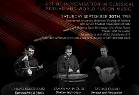 Improvisation in Classical Persian and World Fusion Music