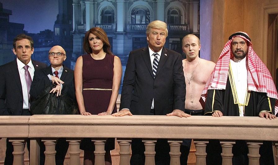 Saturday Night Live Mocks Putin's Handshake with Bin Salman ...