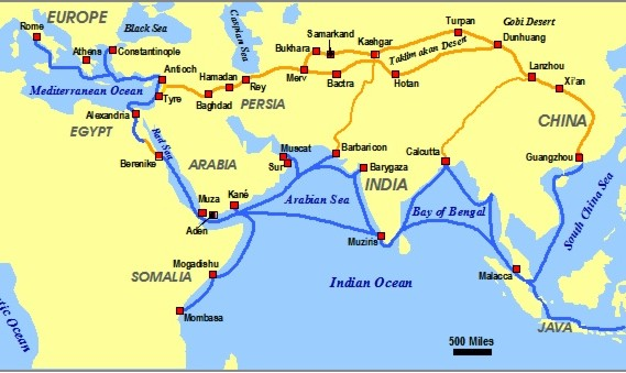 Iranians and the Silk Road , Lecture by Dr Richard Foltz