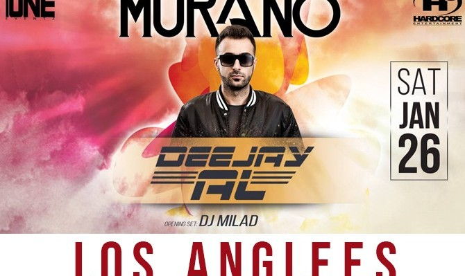Persian Party in Los Angeles with Deejay Al