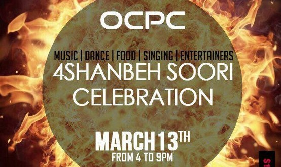 Largest Chaharshanbeh Soori Party in Orange County