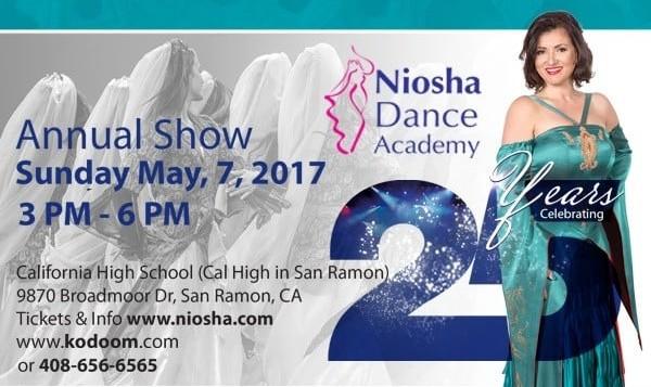 Niosha Dance Academy 2017 Dance Show and Recital