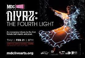 NIYAZ in Miami: The Fourth Light Project: A Seamless Synthesis of Sound, Image and Light
