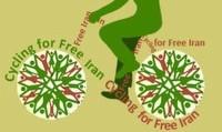 دوچرخه سواری در حمایت از ایرانی آزاد