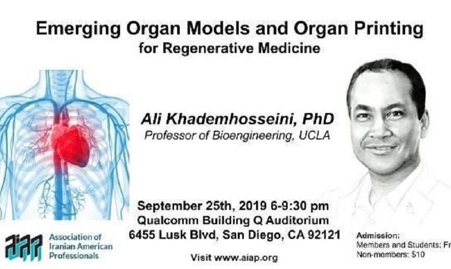 Discussion with Dr. Ali Khadem-hosseini: Emerging Organ Models and Organ Printing