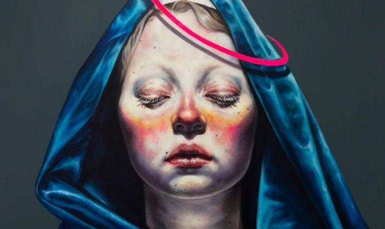 نمایشگاه آثار هنری آفرین ساجدی