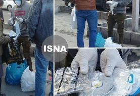 تصایر تلخ: فروش ماسک در خیابانهای تهران به جای داروخانه ها! قیمتهای آقای دستفروش در بحران کرونا