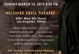 Behzad Live in Concert in Los Angeles
