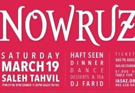 Nowruz & Saleh Tahvil Celebration: DJ Farid + Dinner + Dance