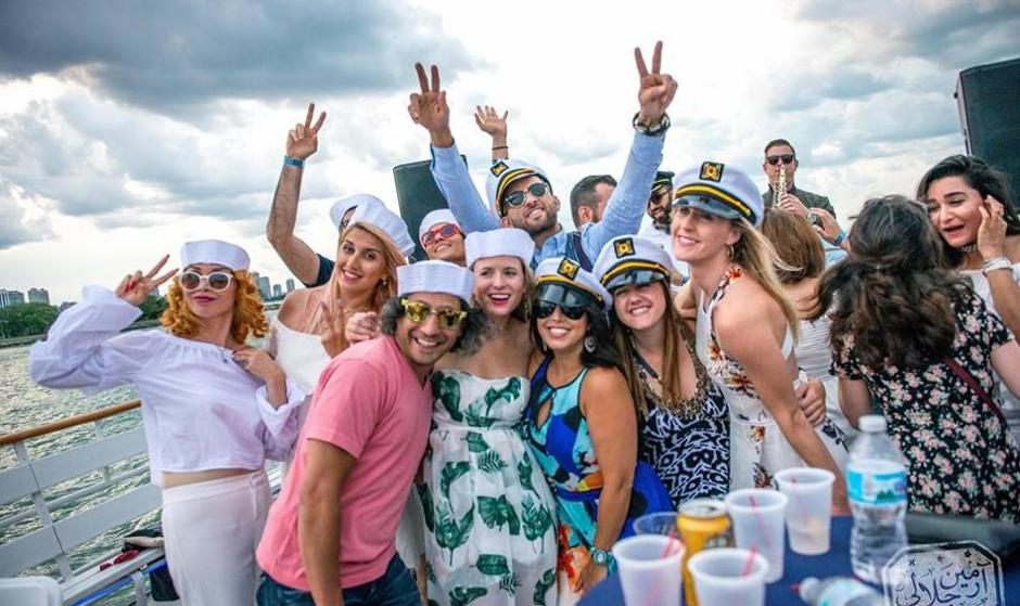Chicago Persian Boat Party, Summer 2019