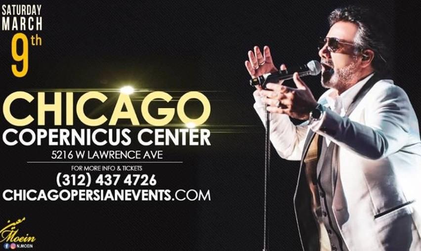 Moein Concert, Norouz 2019 in Chicago