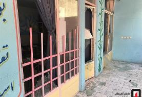 تصاویر انفجار گاز در مدرسه پسرانه در میدان شهر زیبا: به هیچ یک از دانش آموزان آسیبی نرسید