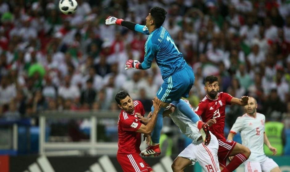 بیرانوند در کنار رونالدو و مودریچ در تیم منتخب جام جهانی ۲۰۱۸ قرار گرفت