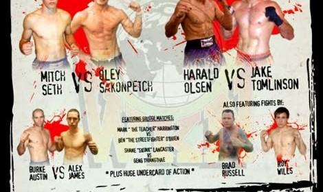 Iran-Australia Muay Thai/Kickboxing