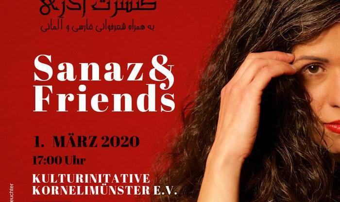 کنسرت آذری به همراه شعرخوانی فارسی و آلمانی