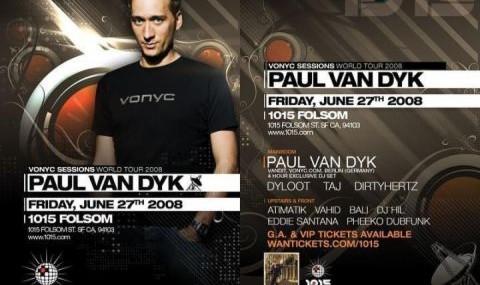 DJ Paul Van Dyk in 1015 FOLSOM