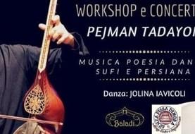 Concerto di musica Sufi-Persiana con Pejman Tadayon e Jolina
