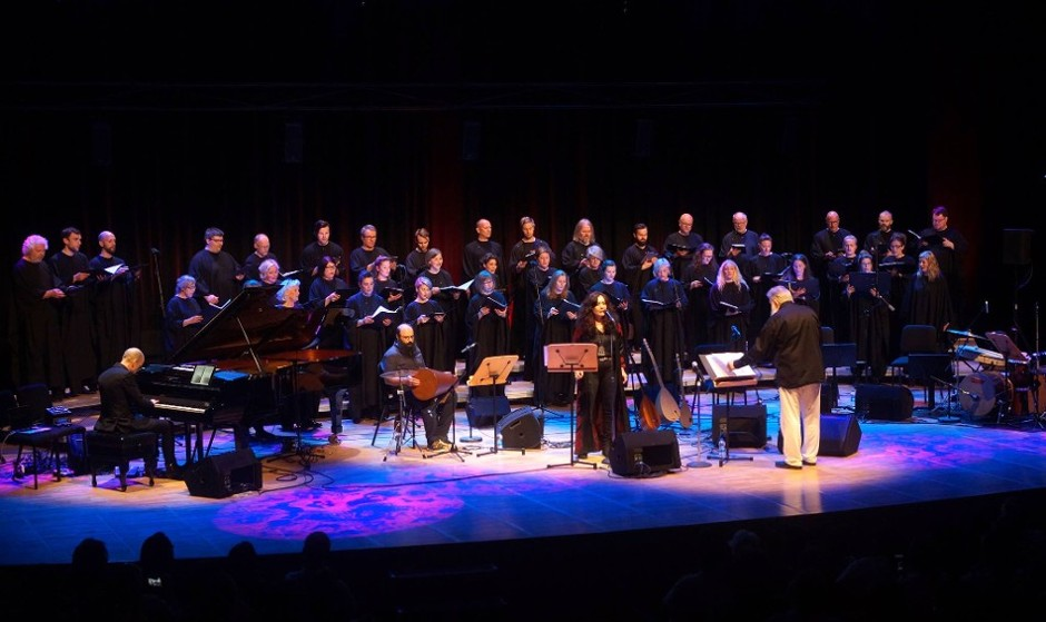 Mahsa Vahdat and SKRUK Choir in Concert