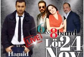 پارتی ایرانی: موزیک زنده حمید راستی