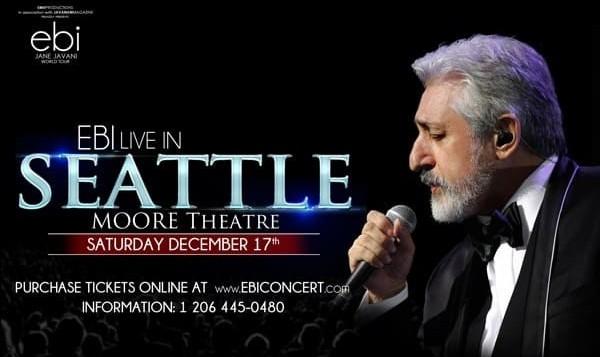 Ebi Live in Concert in Seattle