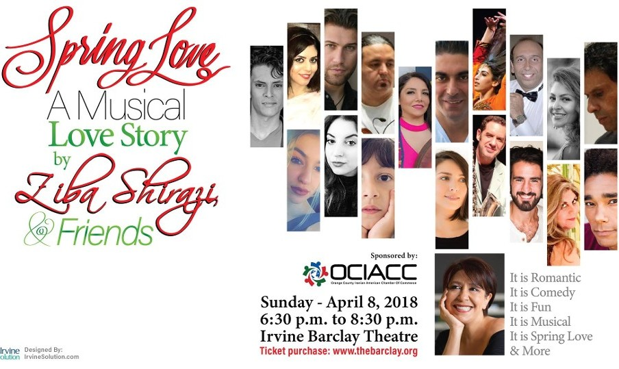 Spring of Love, A Musical Love Story with Ziba Shirazi