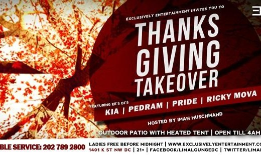 Thanksgiving Eve Takeover Persian Party