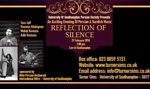 Persian & Kurdish Concert Reflection of Silence