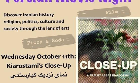 Persian Movie Night - Abbas Kiarostami's Close-Up
