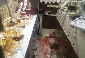 سرقت مسلحانه از یک طلا فروشی در ارومیه و زخمی شدن صاحب جواهری