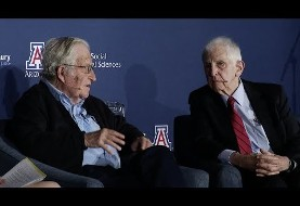 Video: Chomsky and Ellsberg, America's anti-war scholars, onstage together for the first time