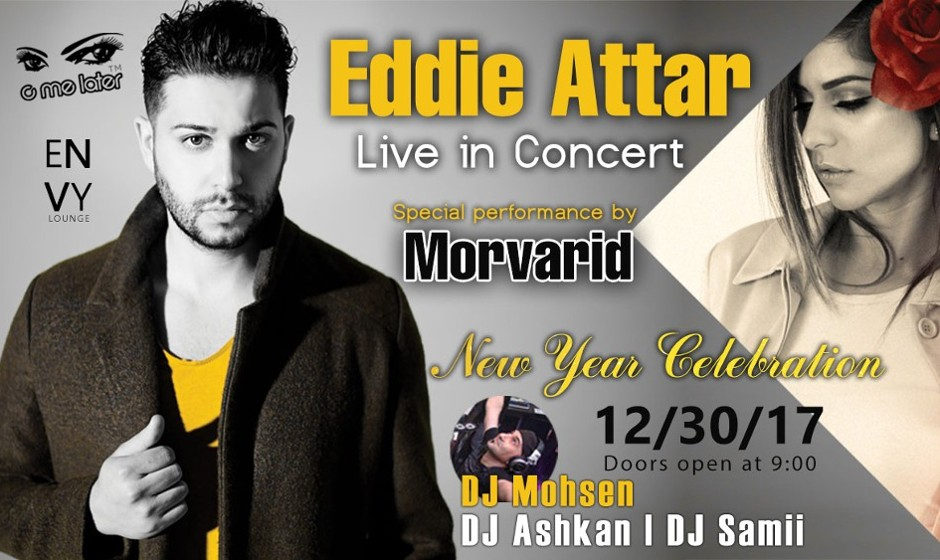 Eddie Attar in New Year's Eve Concert, Featuring Morvarid