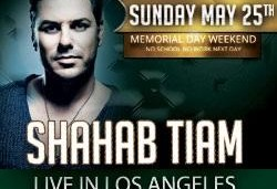 Shahab Tiam in Memorial Weekend Bash