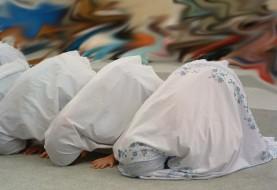 مراسم نماز جمعه در مسجد Irvine