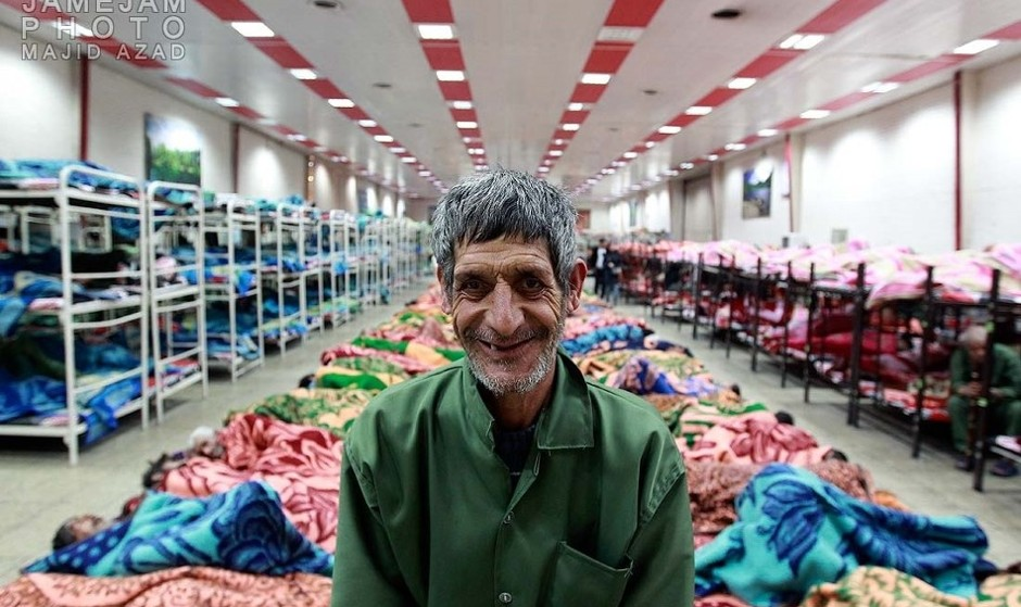 In Pictures: Tehran Homeless Shelters Stay Open 24 Hours During ...