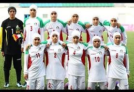 Men part of Iran's National Women's Soccer Team? (Video)