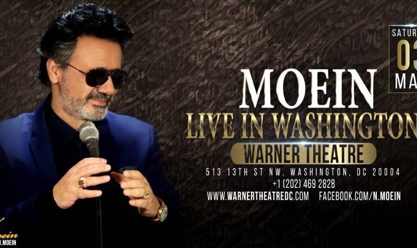 Moein Live In Washington D.C.