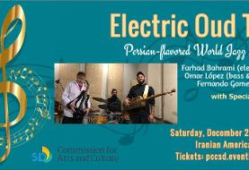 The Electric Oud Trio: Persian-flavored World Jazz Concert