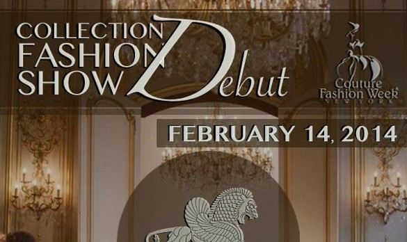 Pedram Couture 2014 Collection Début at Couture Fashion Week New York!